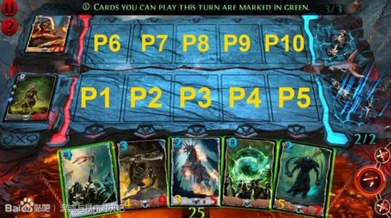 『混沌與秩序:對決』遊戲卡牌站位之地形篇