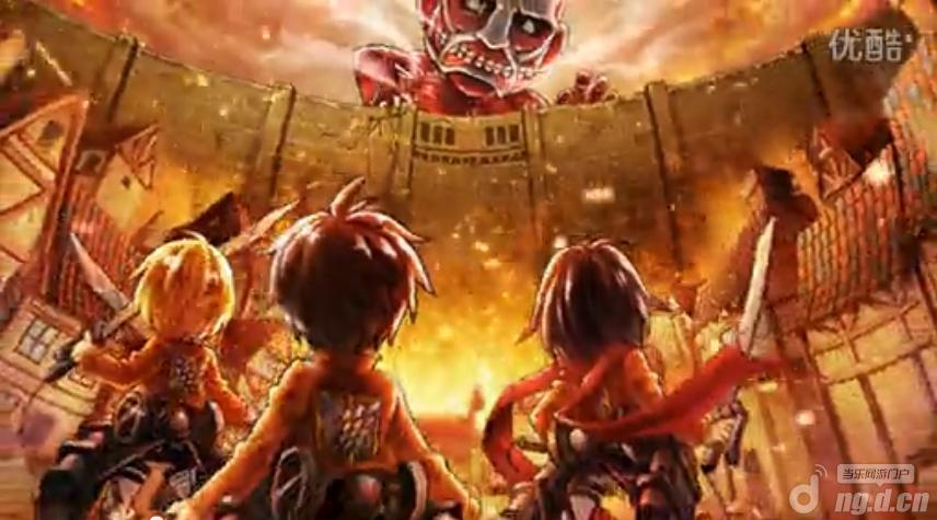 《进击的巨人》超爽快游戏视频
