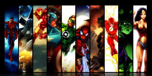 没有超能力肿么破 来玩儿超级英雄游戏呀