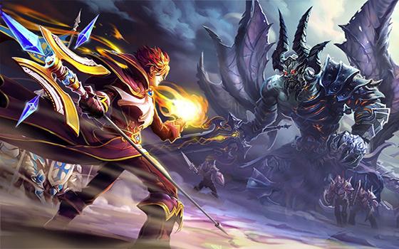 MMORPG手游《君王3》试玩视频