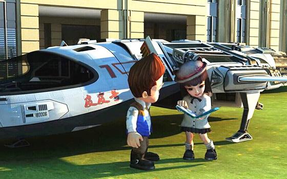 3D格斗手游《葫芦兄弟》开场剧情视频