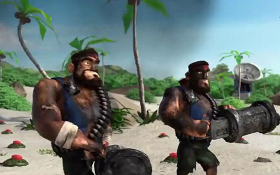 策略手游《海岛奇兵》爆笑广告片:大计划