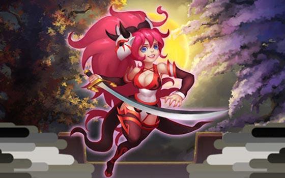 日式Q版横版格斗手游《妖刀物语》试玩视频