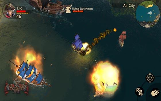 3D手游《骷髅海》官方战斗视频