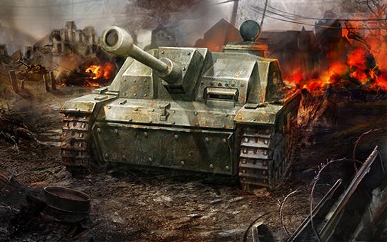 """《3D坦克争霸》新版本""""角逐!钢铁之王""""宣传片"""