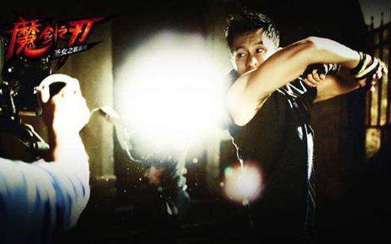 李晨代言动作手游《魔剑之刃》与你约战 敢不敢!
