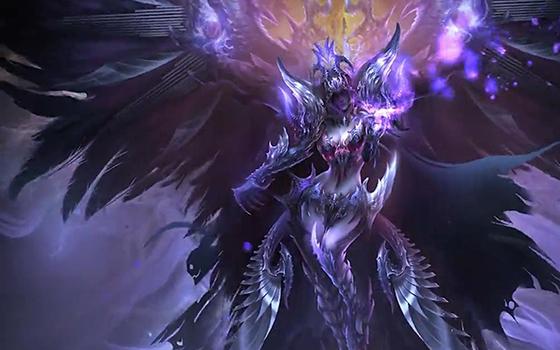 魔幻手游《女神联盟》首个资料片终极boss揭示视频