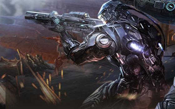 科幻枪战竞技手游《战斗领域》视频曝光
