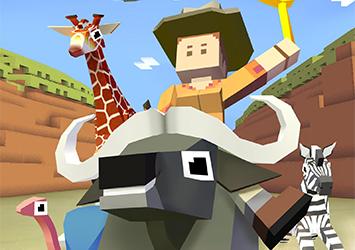 套马的牛仔你威武雄壮 休闲游戏《疯狂动物园》现已上架
