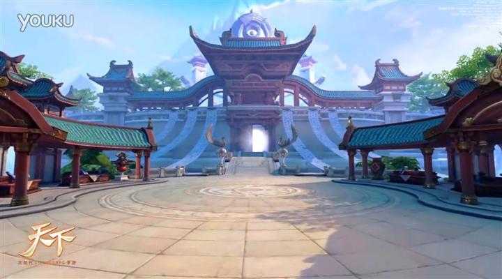 次世代3D MMORPG手游大作《天下》场景战斗视频首发