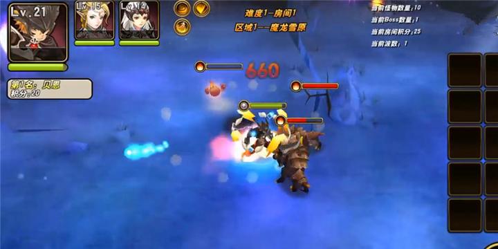 《魔龙战记》死亡狩猎玩法展示