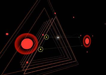 点线面构建抽象科幻!《夜之门》奇妙登陆iOS