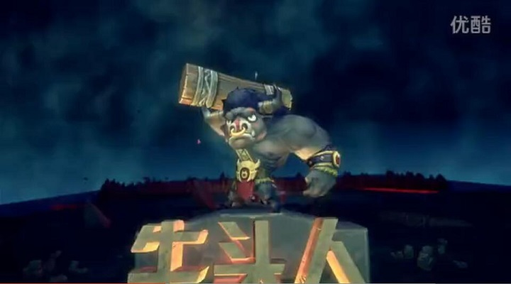 《风暴部落》宣传CG动画