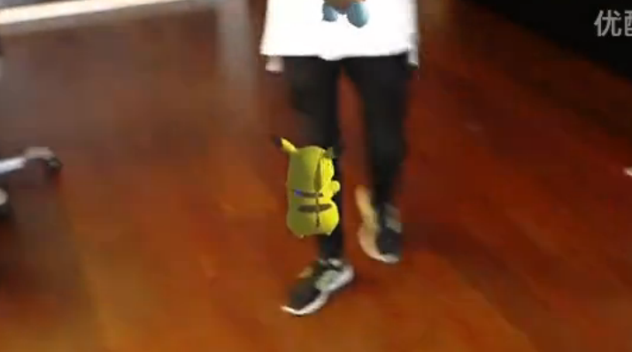 HoloLens版《口袋妖怪GO》