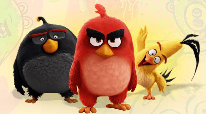 《愤怒的小鸟》电影宣传视频