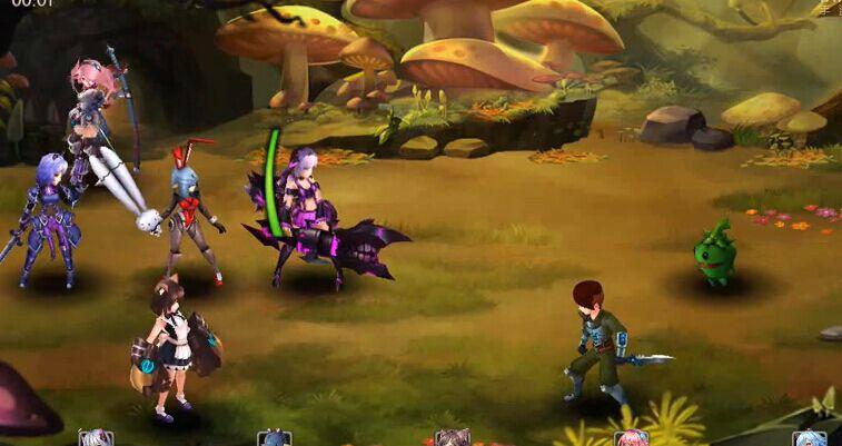 《幻姬骑士团》游戏视频首曝