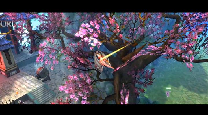 盖娅首款影游联动手游《九州天空城》玩法视频