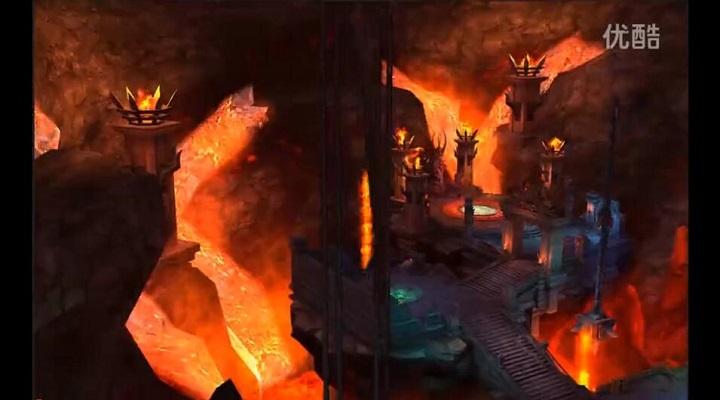 《冰与火战歌》BOSS黑暗恶龙游戏画面视频曝光