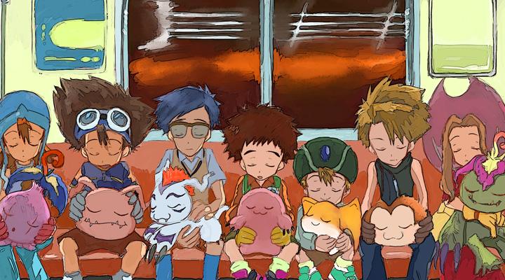 《数码宝贝tri》被选中的八个小朋友首次曝光