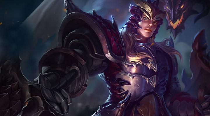 《英魂之刃》手游-英雄龙骑士