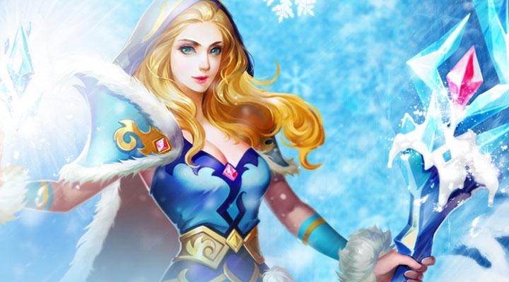 英魂之刃口袋版-英雄冰雪女王