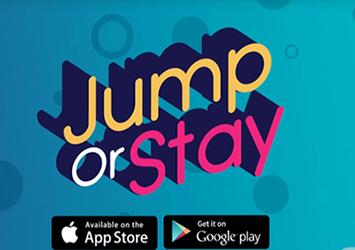 虐心休闲益智游戏《Jump or Stay》即将登陆双平台