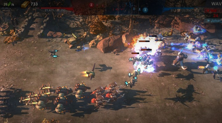 科幻RTS跨平台 赤潮 游戏预览视频