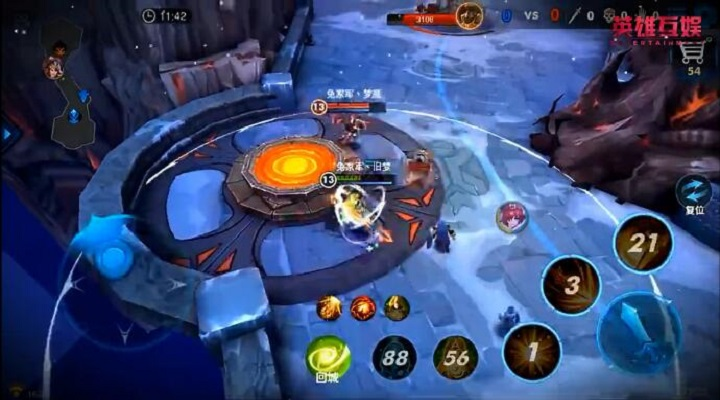 无尽争霸玩家视频:兔家军战队旧梦操作精彩集锦