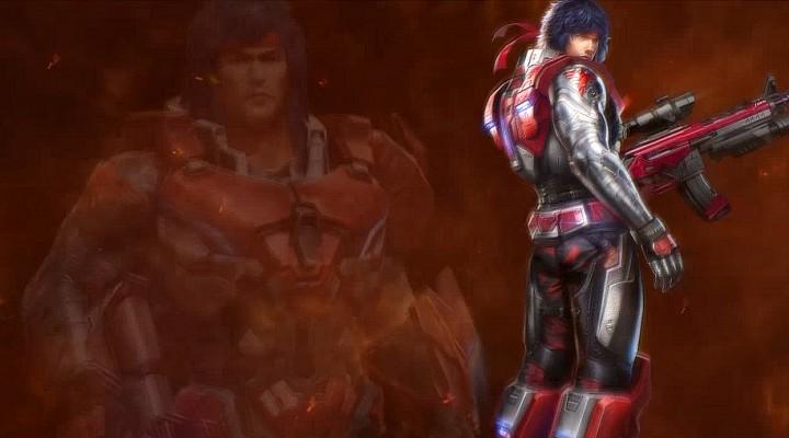 魂斗罗:归来英雄展示:钢铁先锋 兰斯