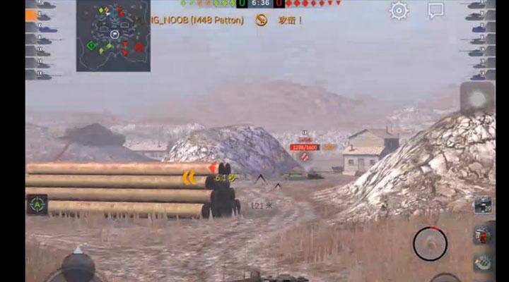 《坦克世界闪击战》大巴顿实况——AndyFire