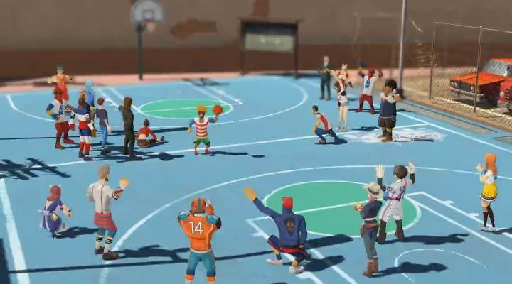 网易首款篮球竞技手游《潮人篮球》宣传视频首曝