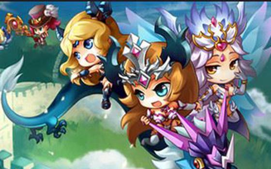 全民跨服争夺王者荣耀《女神联盟》2.0新版本视频