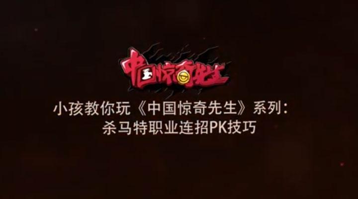 《中国惊奇先生》世界格斗冠军小孩教学亚虎国际之杀马特职业PK技巧