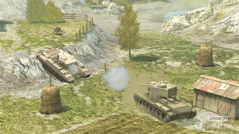 图1:重型与中型坦克狭路相逢.jpg